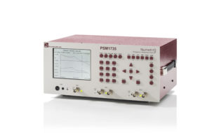 PSM1735 Gain/Phase Frequency Response Analyzer Angle View
