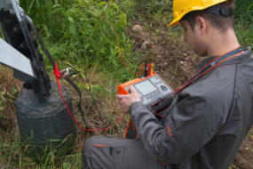 Article on Earth ground resistance measurement: Fall of potential method
