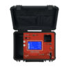 Portable SF6 analyser opened monitoring the quality of SF6 in MV & HV gas insulated electrical equipment.
